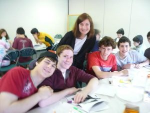 Ann with students -  3
